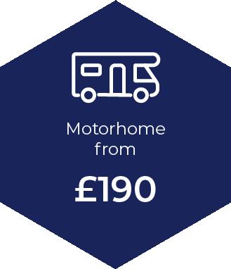 Motorhome Insurance from £190